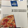 3 Pizzas Margherita Surgelées - Product