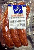 Saucisses fumées à cuire - Produit