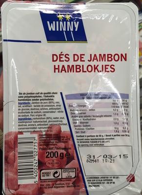 Dés de Jambon - Product - fr