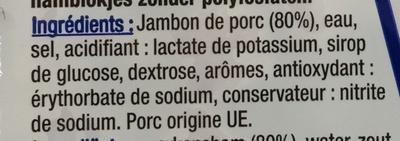 Dés de Jambon - Ingredients - fr