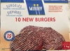 10 New Burgers surgelés - Product