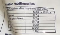 Portions de Filet de Colin d'Alaska panées, Surgelées (5 Portions) - Voedingswaarden - fr