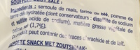 Snacks frites salées - Ingrédients - fr