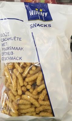 Snacks goût Cacahuète - Product