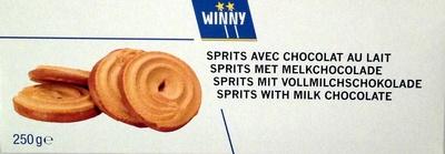 Sprits avec Chocolat au lait - Product - fr