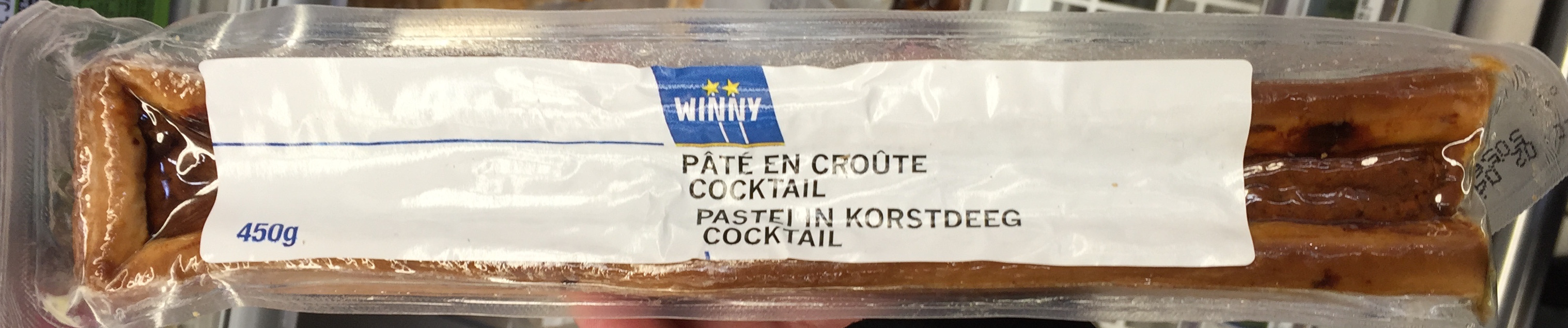 Pâté en croûte cocktail - Product