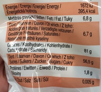 Bonbons tendres - Informations nutritionnelles - fr
