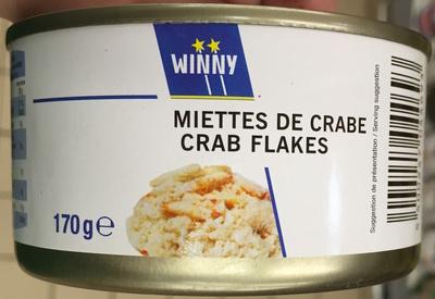 Miettes de crabe - Produit - fr