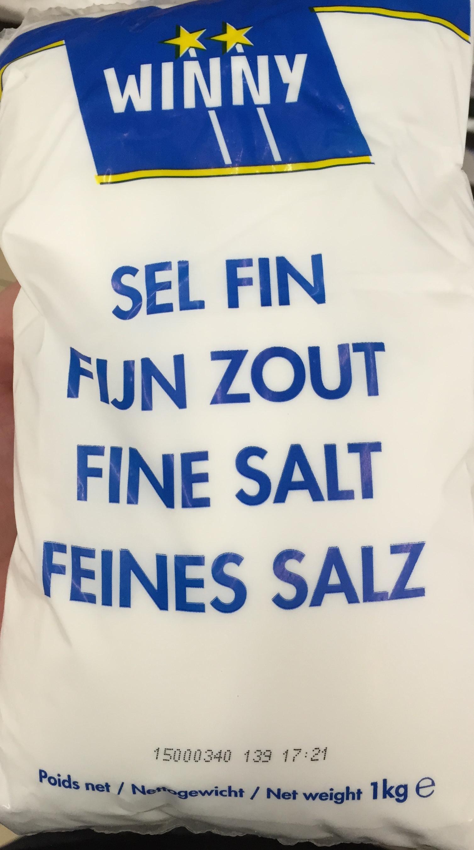 Sel fin - Produit