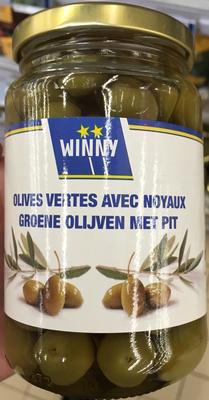 Olives vertes avec noyaux - Product