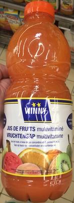 Jus de fruits multivitaminé - Produit - fr