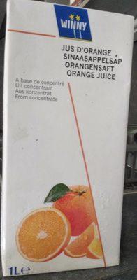 Jus d'orange à base de concentré - Produit