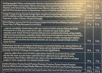 Fruits de mer - Nutrition facts