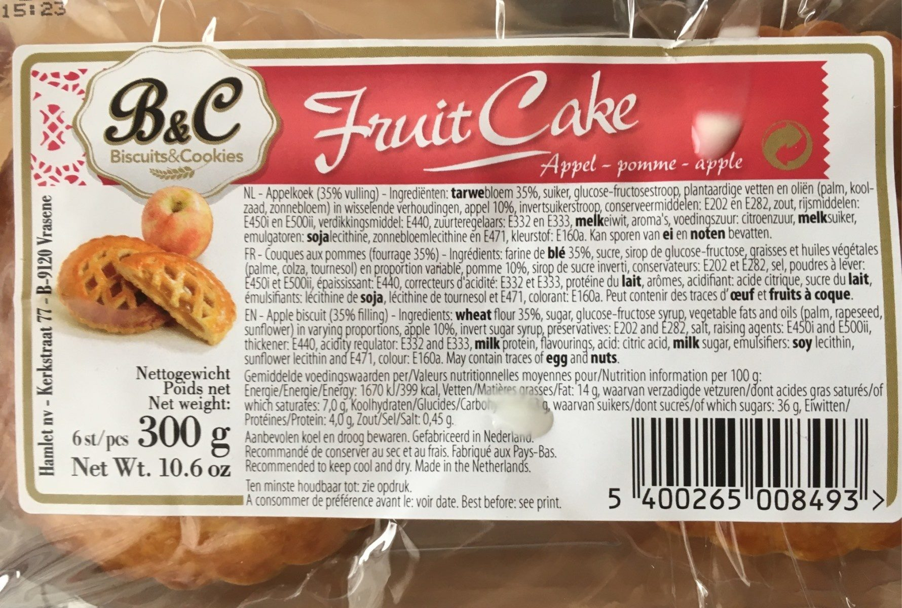 Fruit cake - Produit - fr