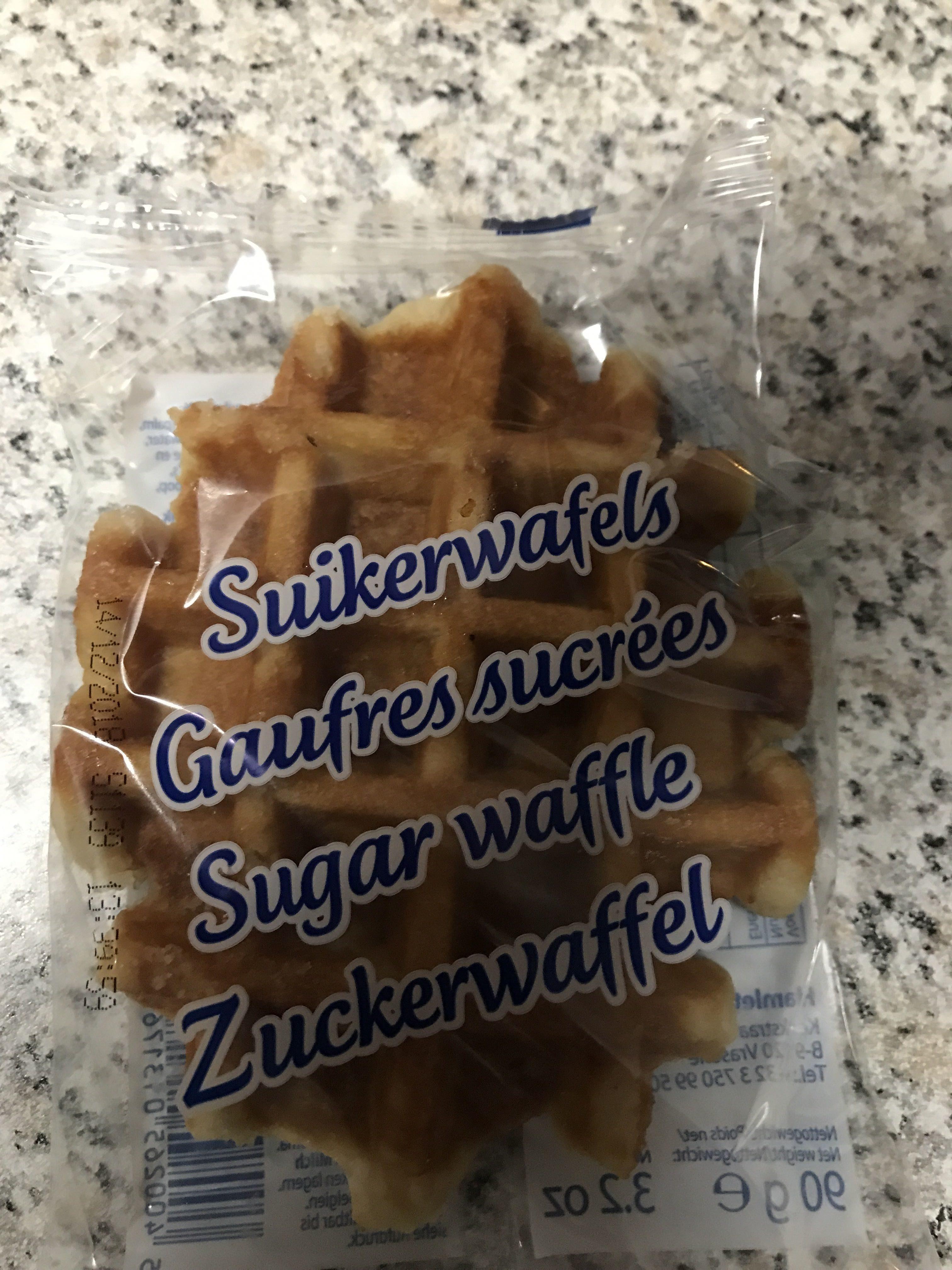 Gaufres sucrees - Produit - fr