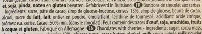 Excelcium Cherissimo - Ingrédients