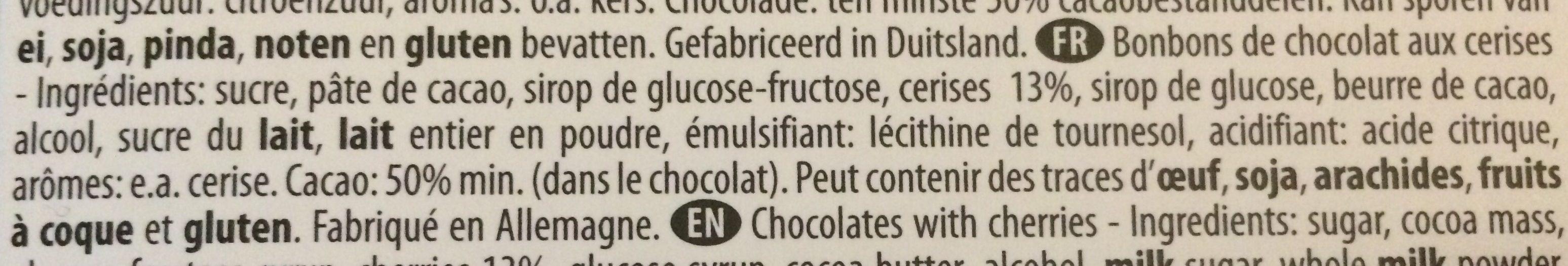 Excelcium Cherissimo 165G - Ingredienti - fr