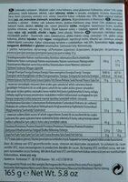 Excelcium Cherissimo 165G - Valori nutrizionali - fr