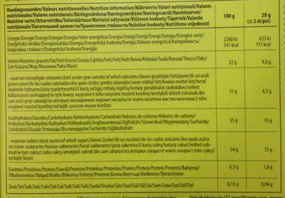 Easter - Hazelnut Filled Figures - Informations nutritionnelles - fr
