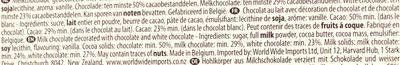 Hamlet chocolat belge - Ingredients