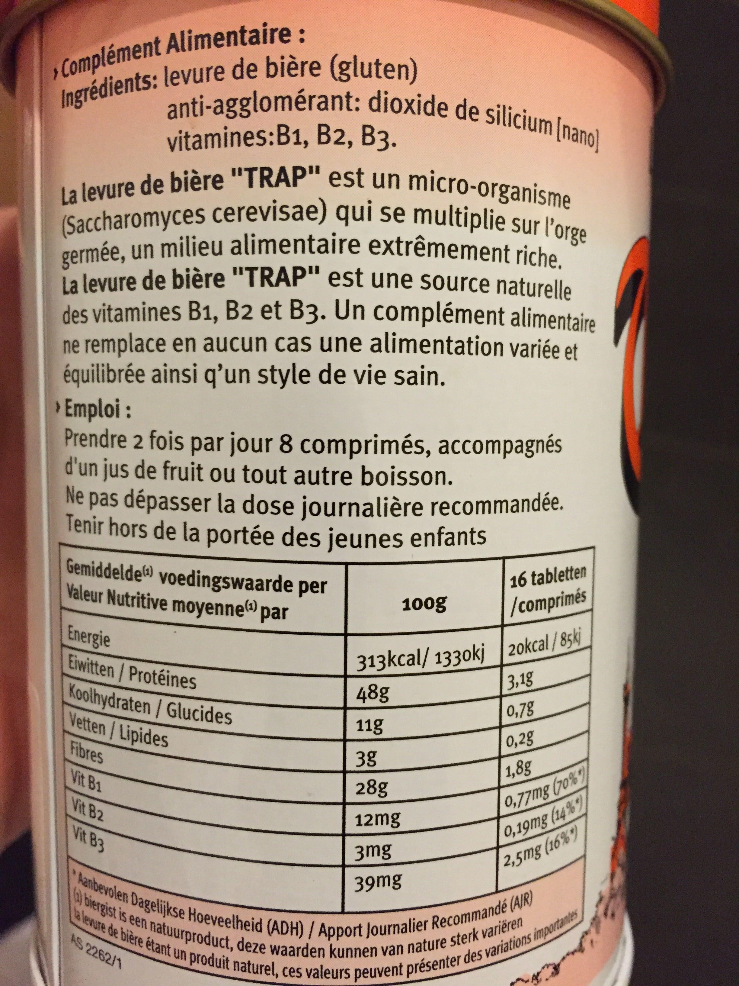 Trap Biergist Tabletten - Product