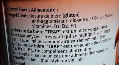 Trap Biergist Tabletten - Ingrediënten