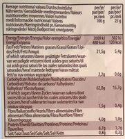 Tortilla Chips - Informations nutritionnelles - fr