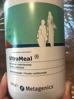 Metagenics Ultrameal Chocolade Poeder - Informations nutritionnelles - fr