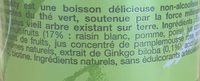 Tao vitality - Ingrediënten - fr