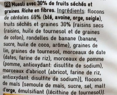 Delhaize - Ingredients