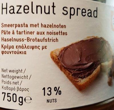 Pâte à tartiner aux noisettes - Prodotto