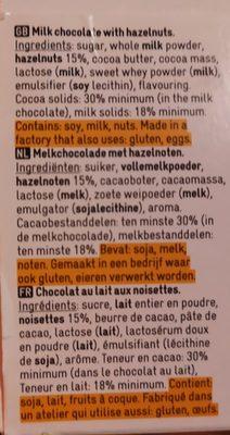 Chocolat au lait avec noisettes - 2