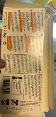 Chocolat au lait avec noisettes - Voedingswaarden