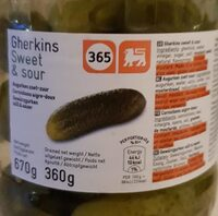 Cornichons Gherking 365 - Product - fr