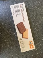 Biscuits with milk chocolate - Product