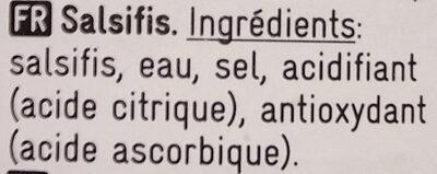 Salsifis - Ingrediënten