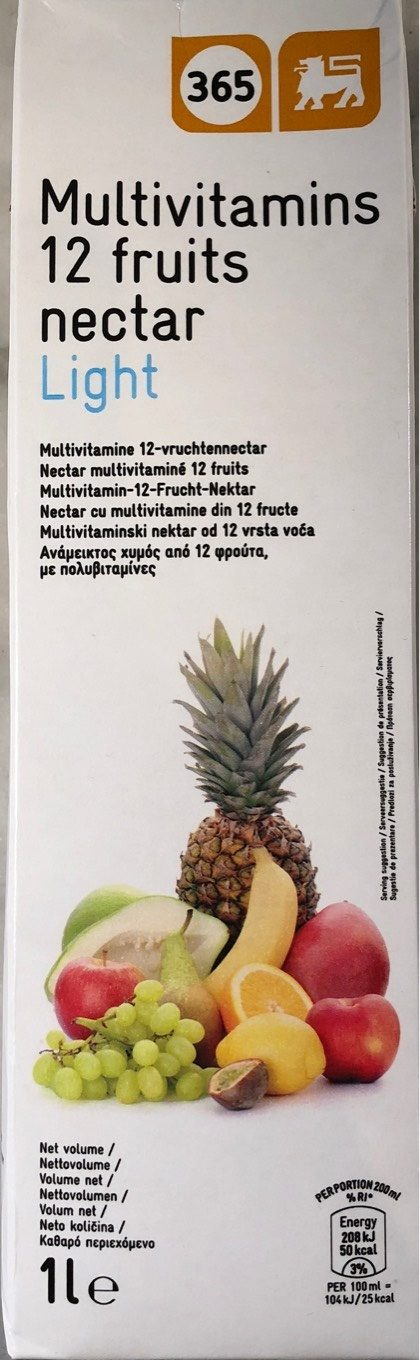Nectar multivitaminé 12 fruits - Product - fr