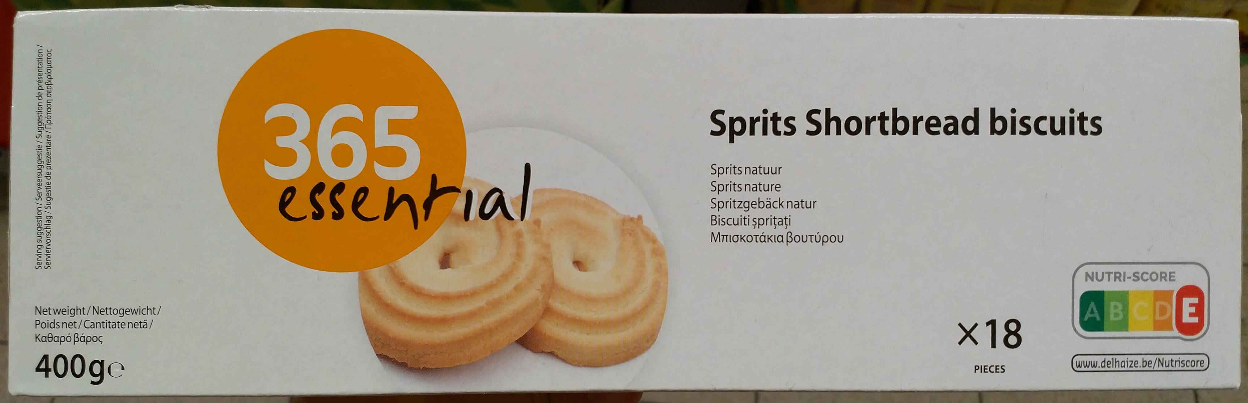 Sprits Shortbread Biscuits - Produit - fr