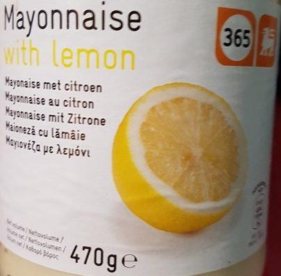 Mayonnaise au citron - Product - fr