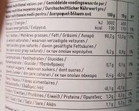 Mayonnaise au citron - Voedingswaarden - fr