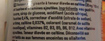 Delhaize - 250 ML - Ingredients - fr