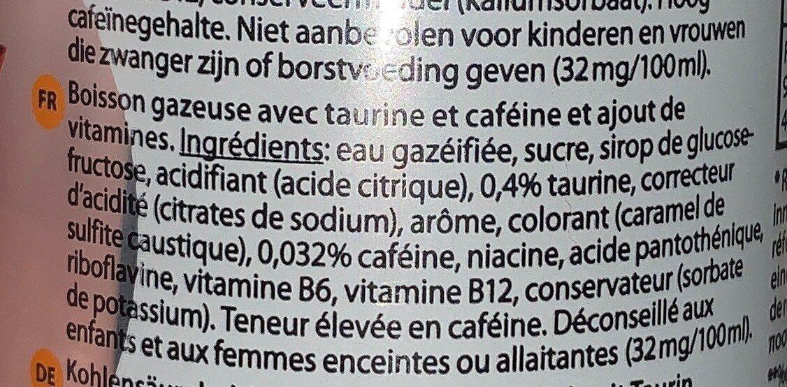 Delhaize - 250 ML - Nutrition facts - fr