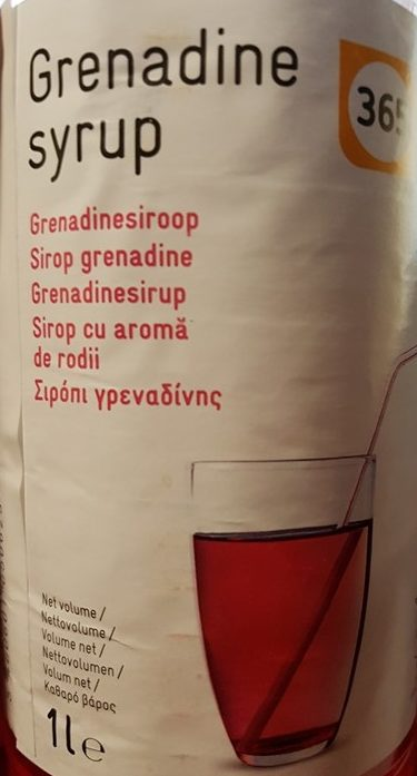 Sirop grenadine - Prodotto - fr