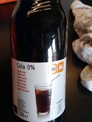 Cola zero Delhaize - Prodotto - fr