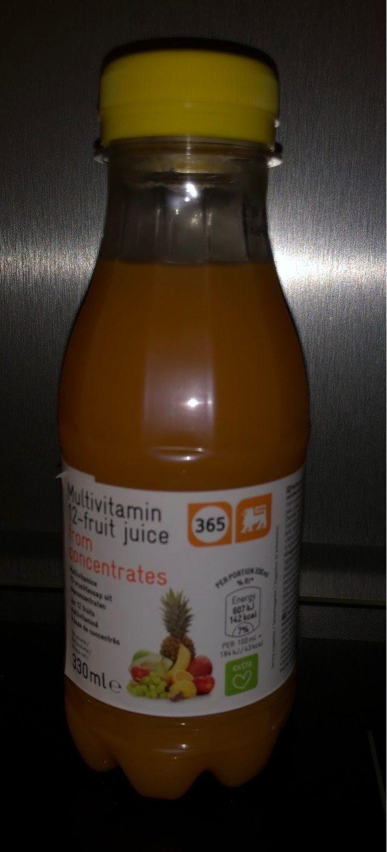 Multivitamin 12 fruits - Product - fr