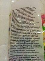 Bonbons tendres goûts fruits - Ingrediënten - fr