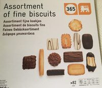 Assortment of fine biscuits - Product - en