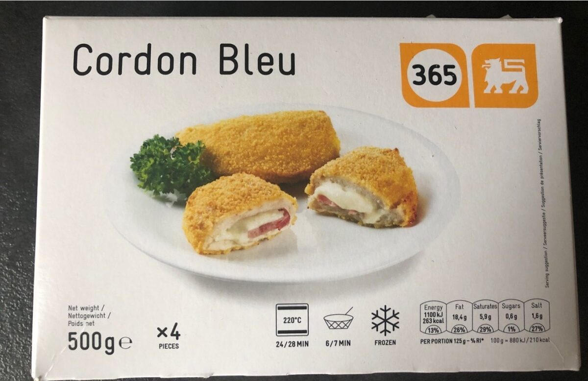 Cordon bleu - Product