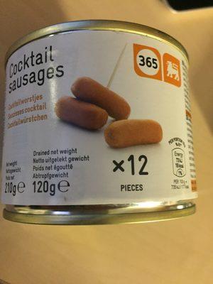 Cocktail sausages Delhaize - Product - fr