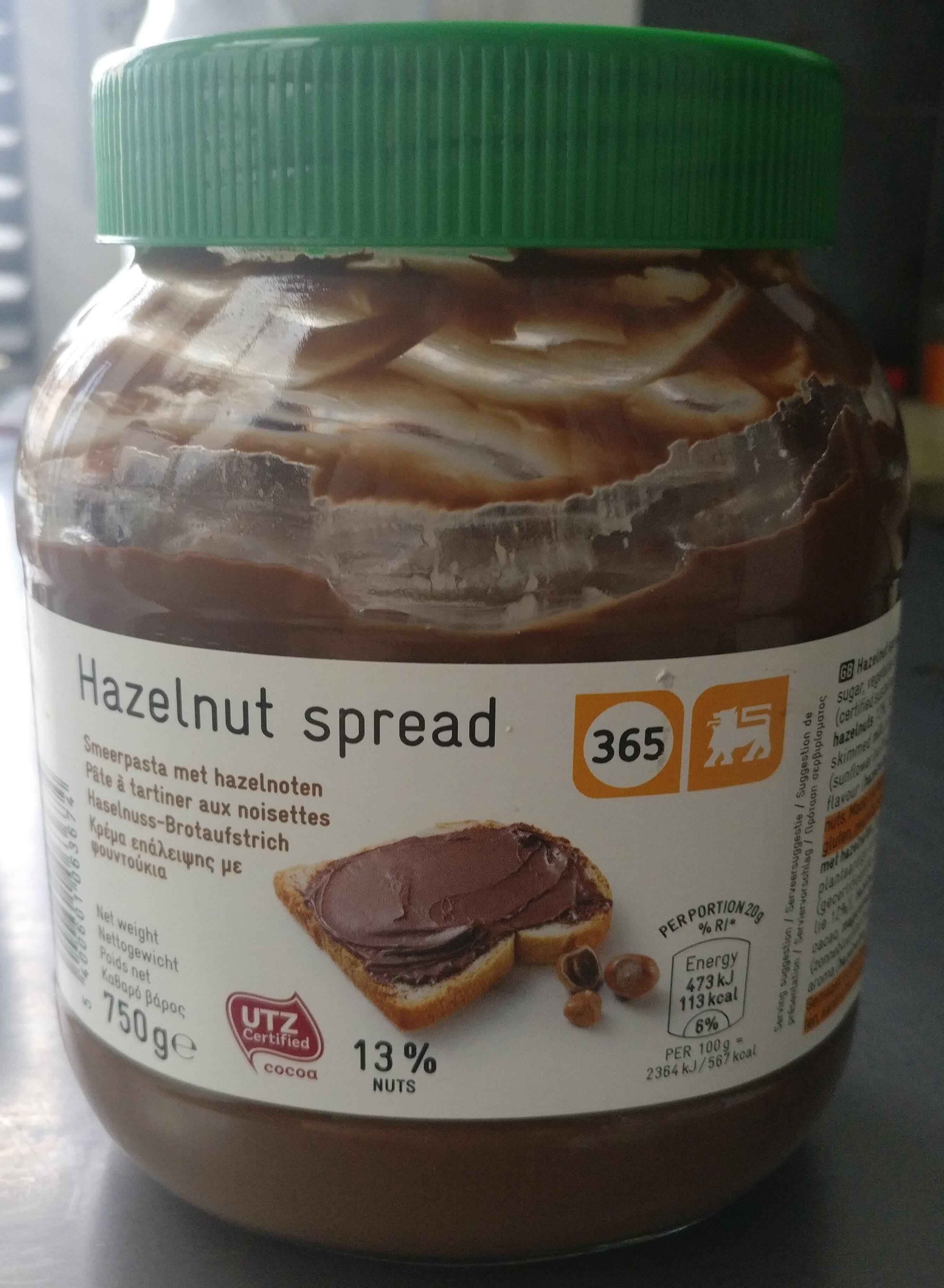Hazelnut sprea - Product